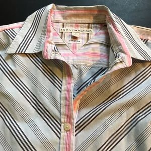 Tommy Hilfiger Stretch Buttoned Down Shirt 8